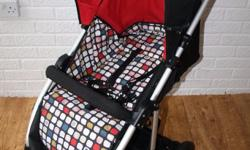Mamas and Papas Ora pushchair with footmuff and