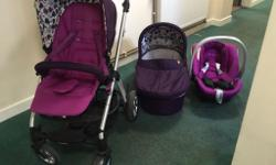 Buyer collects,Mamas n papas travel system for
