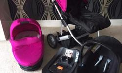 mamas and pappas zoom full travel system includes carry