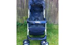 Mamas and Papas Pushchair Aria, in charcoal grey and