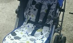 Immaculate blue mamas & papas stroller brought only 4