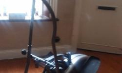 Manual cross trainer for sale good condition Fully