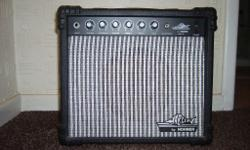 For sale is a Marlin guitar amplifier max 40watts small