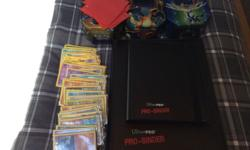 Here's a massive collection of Pokemon cards ranging
