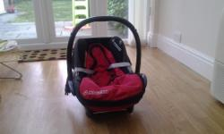 Maxi cosi car seat suitable from birth to 13kg