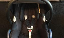 Maxi cosi Cabriofix car seat with Easyfix base and