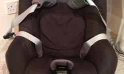 Maxi cosi pearl car seat, needs family fix base (not