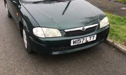 Mazda 323 for sale MOT 29th March, no advisories last