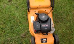 McCullough petrol push mower in good working order