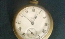 Mens antique pocket watch thirty five pounds. Lovely