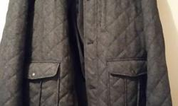 Mens casual coat grey size X X L brand new no marks on