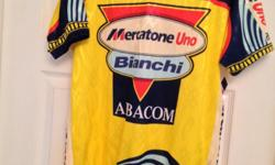 Rare Mercatone Uno Cycling Top size 3xl (suit taller