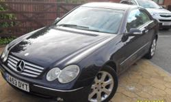 Mercedes Benz CLK 270 CDi Elegance 53 , Automatic with