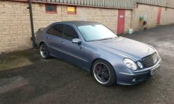 Hi for sale is Mercedes e270cdi avantgarde 160000