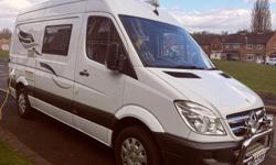 For sale my Mercedes Sprinter camper van done to very