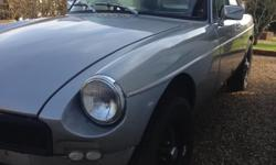 MG BGT 1975 - Starts and runs but clutch and brakes