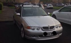 MG ZS year 2004 1.8 litre engine Mileage 55894 Silver 9
