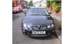 For sale i have a MG ZT 160+, great car, nice comfy