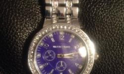 Silver Michael kors watch just snapped easy to fix or