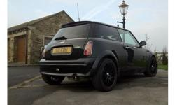 Cosmos black - Mini cooper 1.6 - chrome pack 03 plate