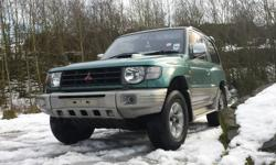 I have a mitsubishi shogun for sale 1998 flared arch