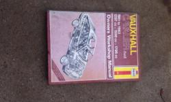 mk2 vauxhall cavalier haynes manual in very good