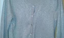 Gold sparkle cardigan from monsoon size M selling for