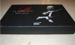 George Solti collectable Montblanc Pen a real