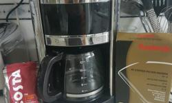 £20 o.n.o Morphy Richards Coffee Machine. Comes with