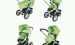 My3 pram and pushchair. Comes with footmuff &