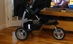 Mothercare travel system, pram, car seat and cozy toes