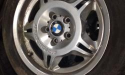 Bmw 17 inch Motorsport alloys with mint Tyers on in