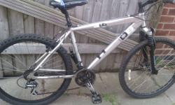 mountain bike in good condition. 26 inch wheels 18 inch