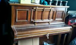Upright piano free for uplift.doesnt need tuned.in good