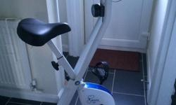 Immaculate, hardly ever used Davina exercise bike with