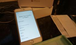 iPhone 6 Plus Gold 128g memory with its box, it is