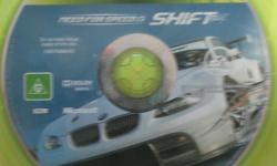 Up for sale is my need for speed shift on xbox 360,