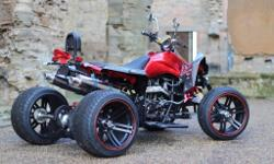 BRAND NEW 2016 ROAD LEGAL QUAD BIKE AT AN AFFORDABLE