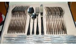 For sale brand new cutlery dinner set for 12 people in