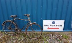 New Hudson very old bike for spares, restoration or