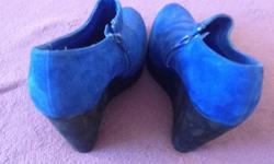 New look shoes size 4 Pet and smoke free home Worn