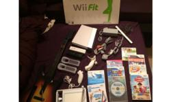Nintendo wii including all the wires in good condition,