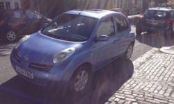 nissan micra 1.4 se automatic,2004 electric sunroof