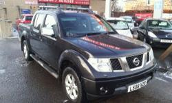 NISSAN Navara OUTLAW DCI 4X4 SWB SHR D-C finished in