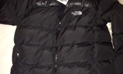 North Face Black Puffer Jackets, Brand New With Tags &
