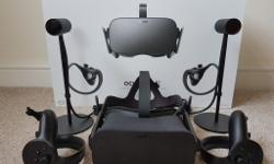 Oculus VR Model Rift + Touch + Xbox controller fully