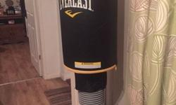 OPEN TO OFFERS everlast freestanding punchbag selling