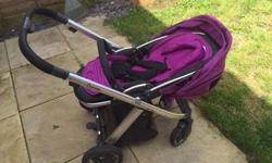 Oyster in purple Good condition. Signs of use But