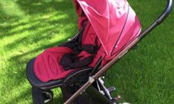 Oyster Pushchair. Carrycot included. Seat can be