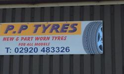 Part worn tyres and New tyres as well part worn tyres
